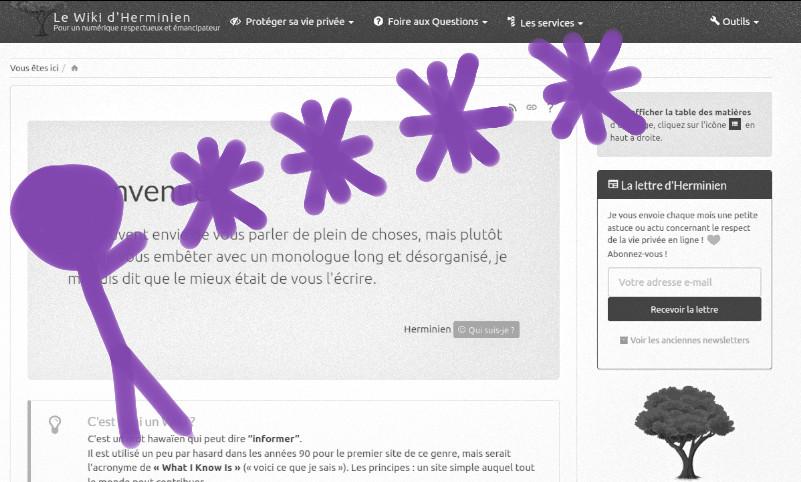 cover Le Wiki d'Herminien