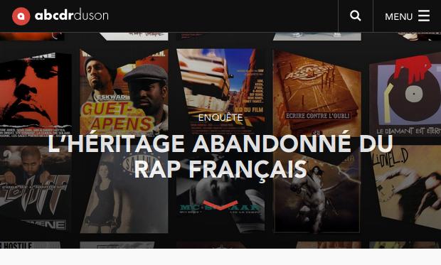 L'héritage abandonné du rap français Article Abcdr du Son
